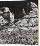Mysteries In Sedona Wood Print by John Rizzuto