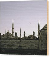 Mysterious Istanbul Wood Print
