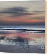 Mystery Beach Wood Print