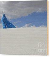 Mystic Blue 10 Wood Print