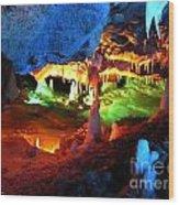 Mystic Caverns Wood Print