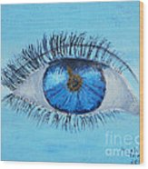 Mystic Eye Wood Print