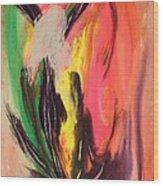 Mystic Fire Wood Print