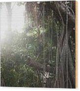 Mystic Jungle Wood Print