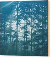 Mystic Light Wood Print