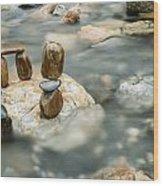 Mystic River IIi Wood Print