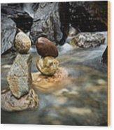 Mystic River S2 Vii Wood Print