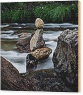 Mystic River S2 Viii Wood Print
