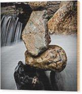 Mystic River S2 Xi Wood Print