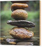 Mystic River S2 Xii Wood Print