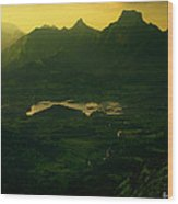 Mystic Valley Wood Print