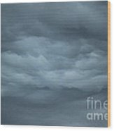 Mystical Clouds Wood Print