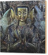 Mystical India Wood Print by Joachim G Pinkawa