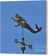 Mystical Mermaid Wood Print