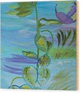 Mystical Moods Wood Print