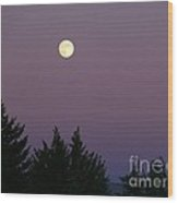 Mystical Moon Wood Print