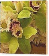 Mystical Orchid  Wood Print