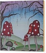 Mysticle Forest Wood Print
