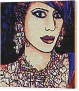 Nadira Wood Print