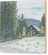 Naggl Alm Wood Print