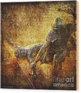 Nailed To The Cross Via Dolorosa 11 Wood Print by Lianne Schneider