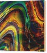 Naked Breeze Wood Print