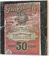 Name Says It All 1902 Wood Print