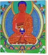 Namo Amitabha Buddha 16 Wood Print