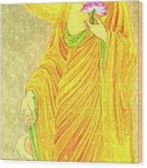 Namo Amitabha Buddha  31 Wood Print