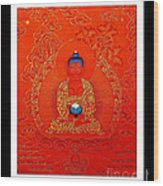Namo Amitabha Buddha 7 Wood Print