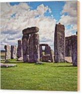 Nancy's Stonehenge Wood Print
