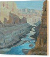Nankoweap Canyon Wood Print