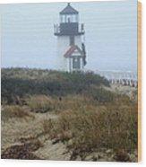 Nantucket Brant Point Light Wood Print
