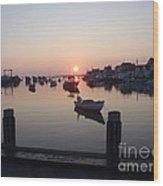 Nantucket Sunrise 1 Wood Print