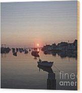 Nantucket Sunrise Wood Print
