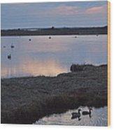 Nantucket Sunset Wood Print