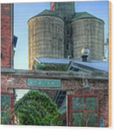 Napa Mill Wood Print