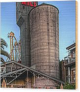 Napa Mill II Wood Print