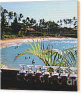 Napili Bay Maui Hawaii Wood Print