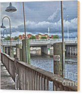 Naples Florida Waterfront Wood Print