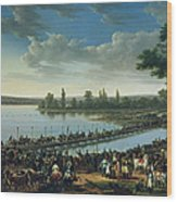 Napoleon Before The Battle Of Wagram, 6th July 1809 Wood Print