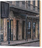 Napoleon House In French Quarter Wood Print