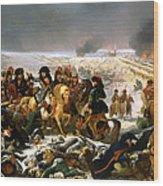 Napoleon On The Battlefield Of Eylau Wood Print