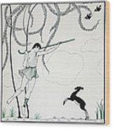 Narcisse Wood Print