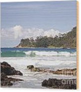 Narrawallee Beach On The South Coast Of New South Wales Australia Wood Print
