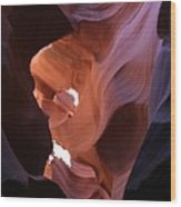 Narrow Canyon Xv Wood Print