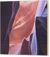 Narrow Canyon Xvi - Antelope Canyon Wood Print