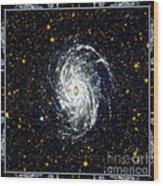 Nasa Big Brother To The Milky Way Wood Print