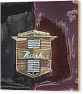 Nash Insignia Wood Print