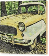 Nash Metropolitan Wood Print